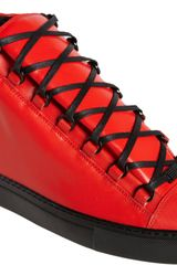 Balenciaga Arena Hightop Sneakers