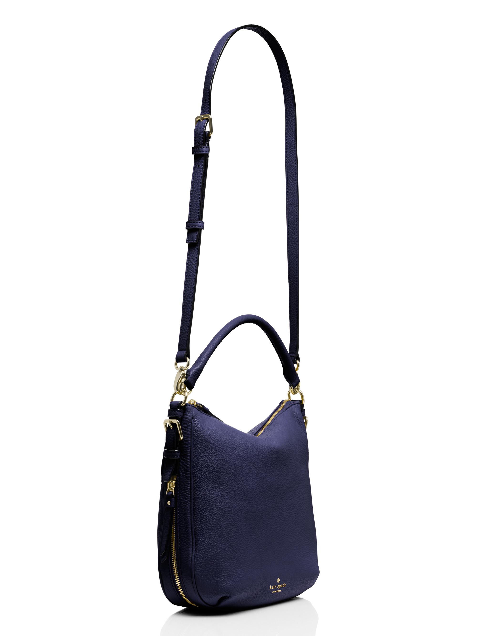 659792138 Lyst - Kate Spade Cobble Hill Small Ella in Blue