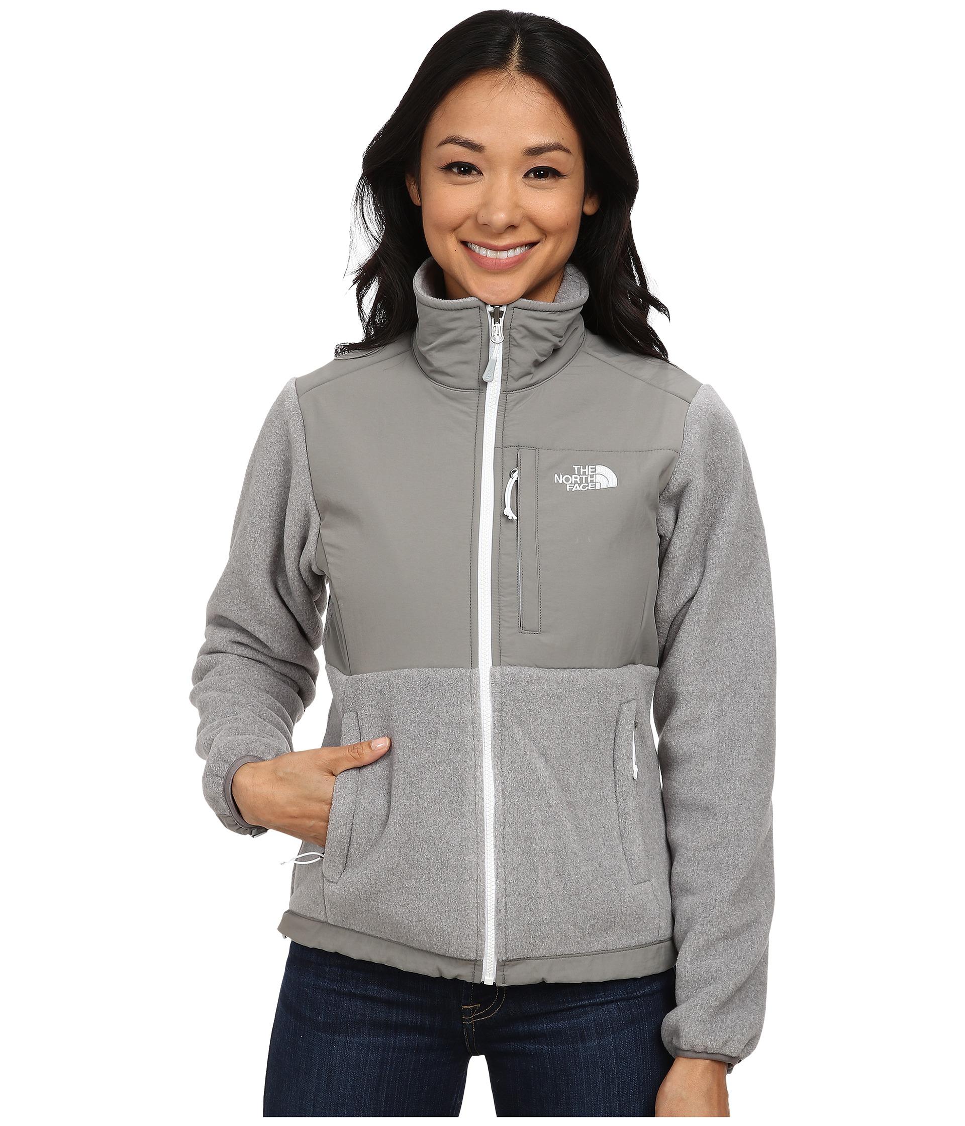 ... shopping lyst the north face denali jacket in gray 33687 6cb43 adb7abc9d