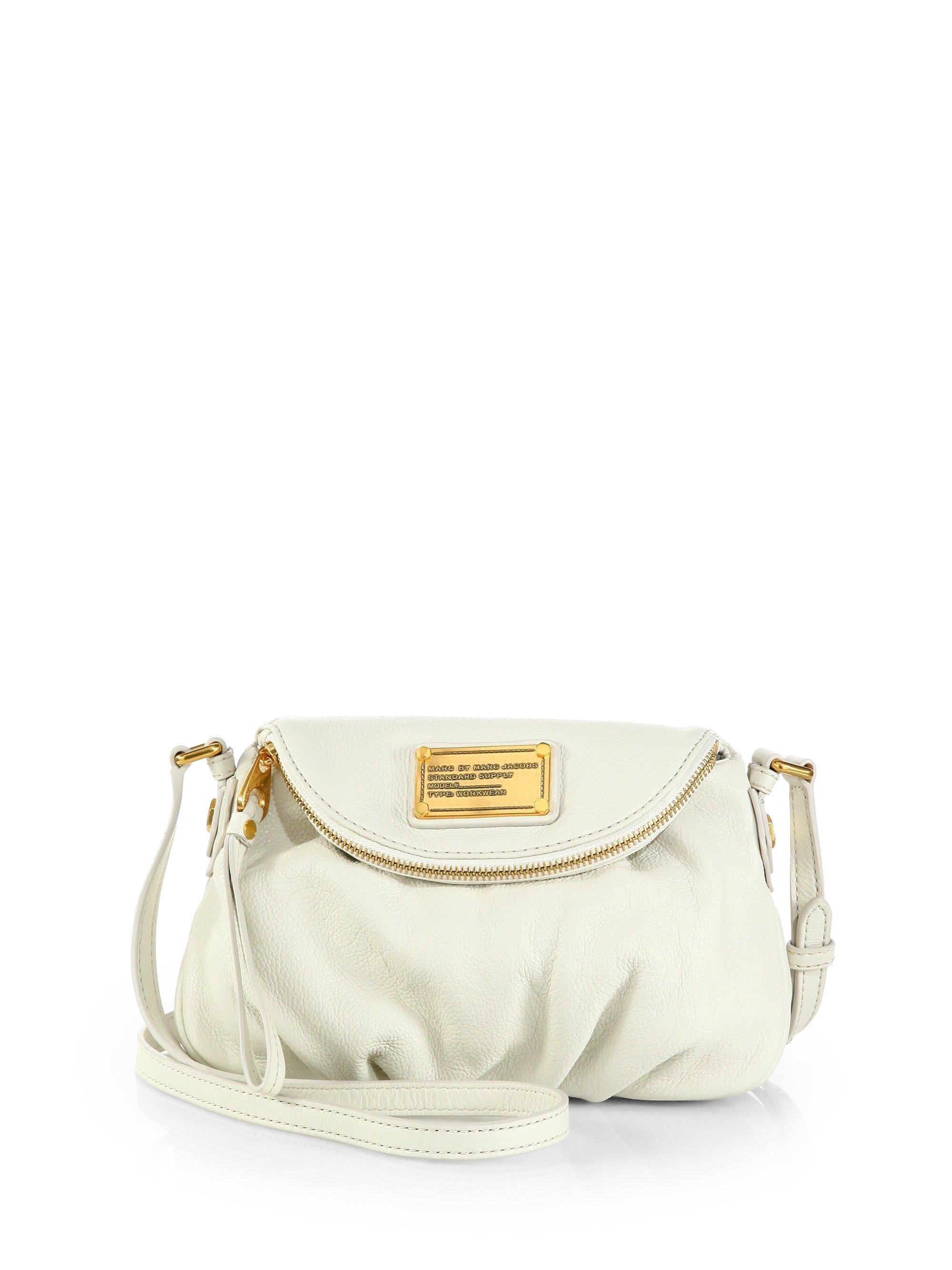 a7c41dcd7dd Marc By Marc Jacobs Classic Q Mini Natasha Crossbody Bag in White - Lyst