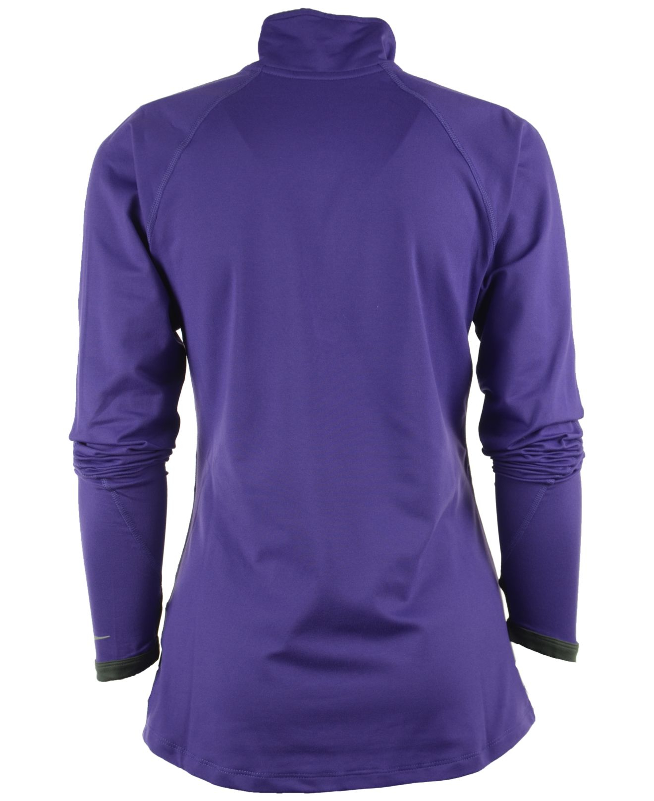8ad76e338490 Lyst - Nike Women S Minnesota Vikings Element Half-Zip Pullover in ...