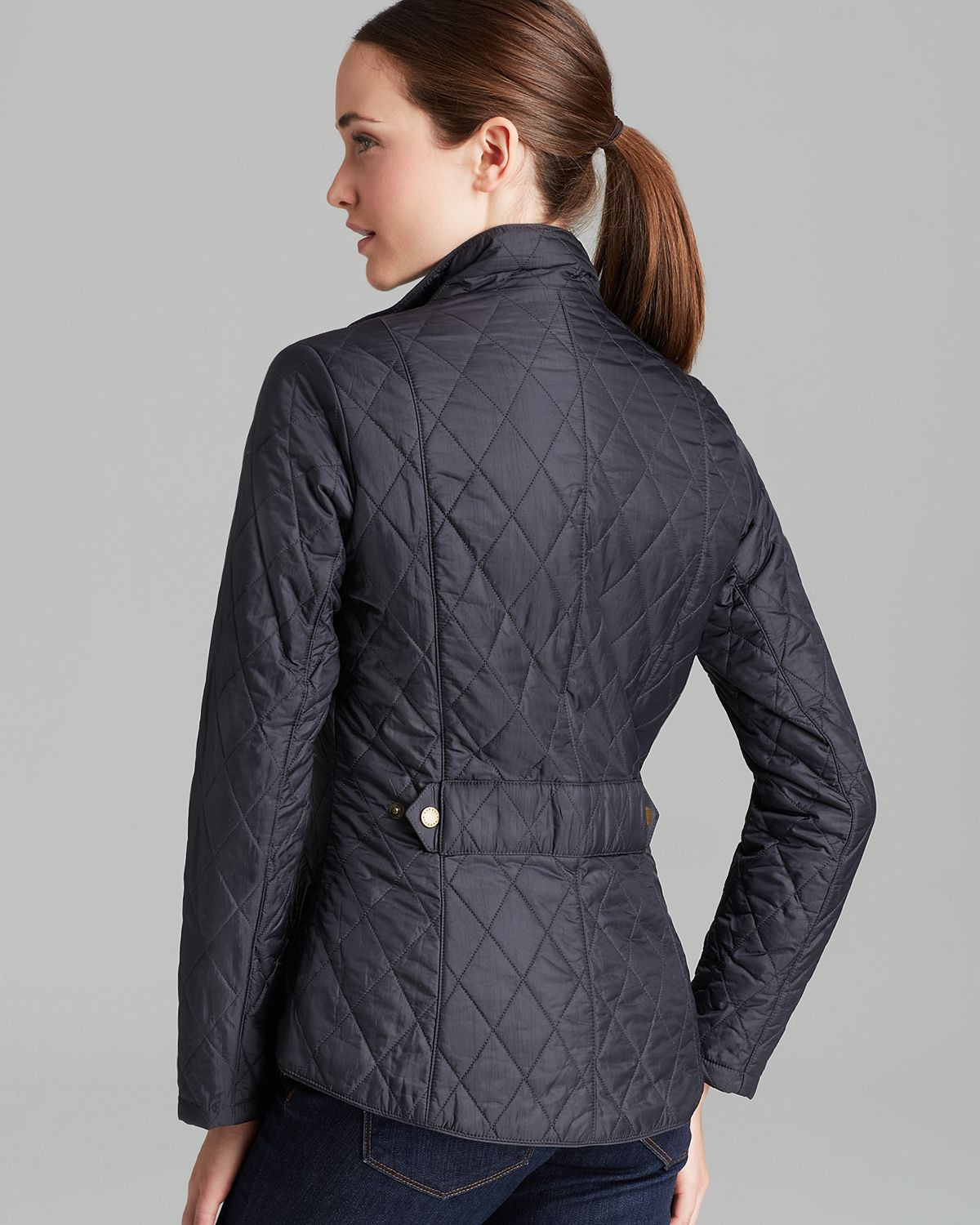 Lyst - Barbour Flyweight Cavalry Jacket in Blue : barbour polarquilt quilted jacket - Adamdwight.com
