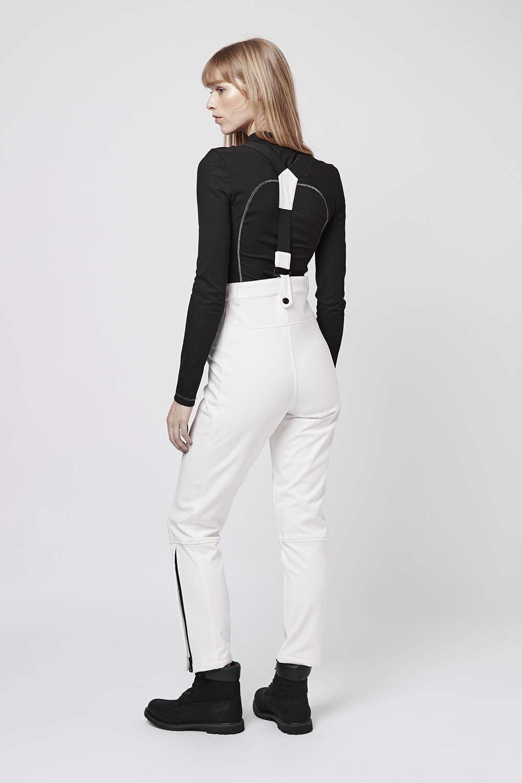 Lyst Topshop Sno Skinny Ski Trousers In White
