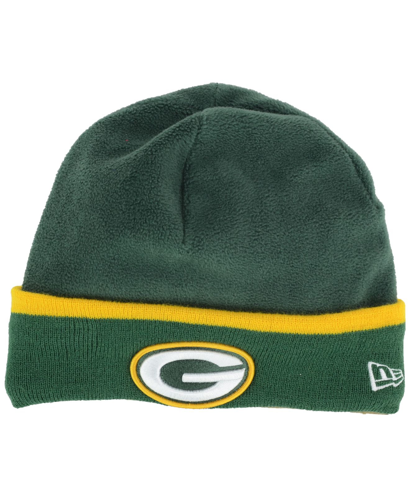 separation shoes 550fc 70b77 ... neo 39thirty cap 5de2f 32717  australia lyst ktz green bay packers tech  knit hat in green for men 2e84f 93ee1
