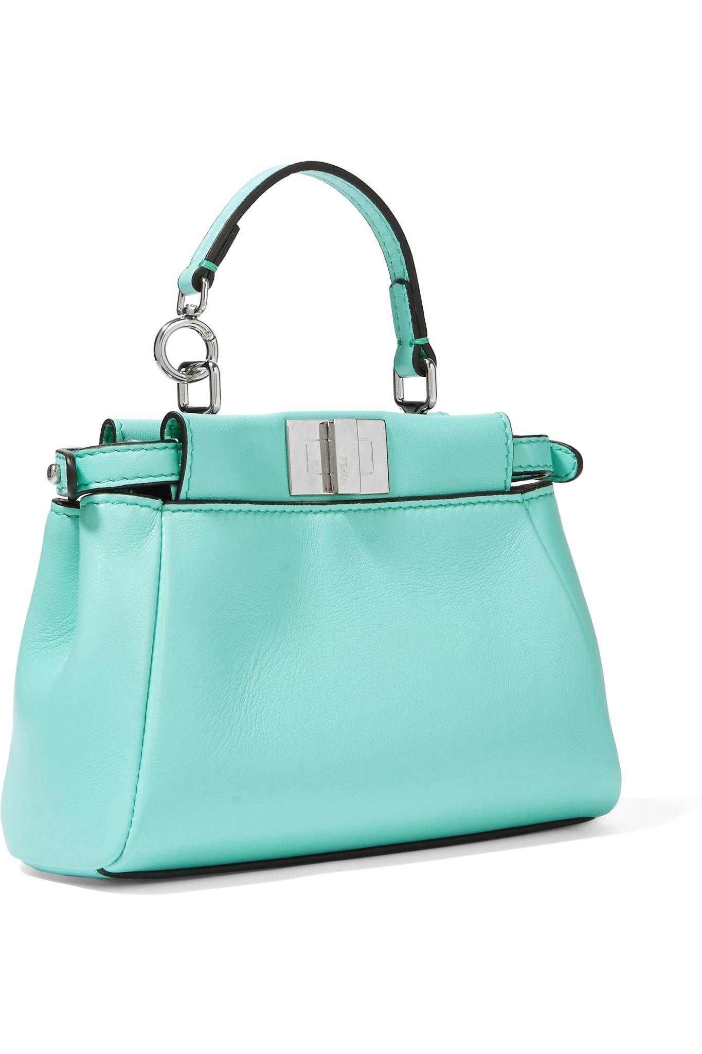 7e8c3292323a where to buy fendi peekaboo micro leather shoulder bag a8643 93c1f