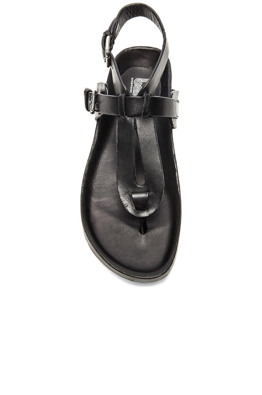 Lyst Belle By Sigerson Morrison April Sandal In Black