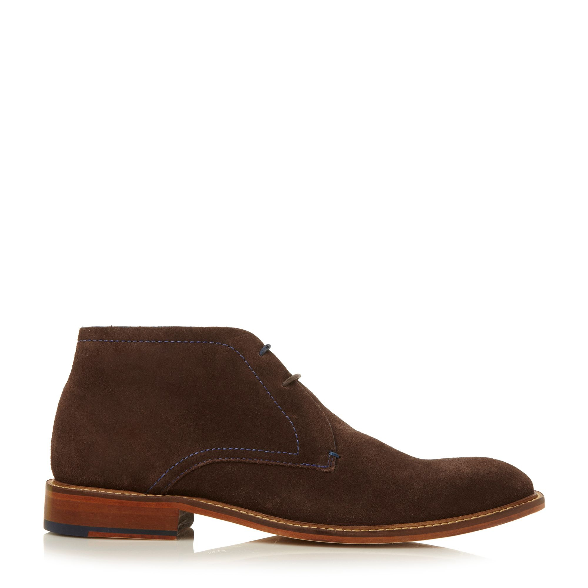 ted baker torsdi formal chukka lace up boots in brown for