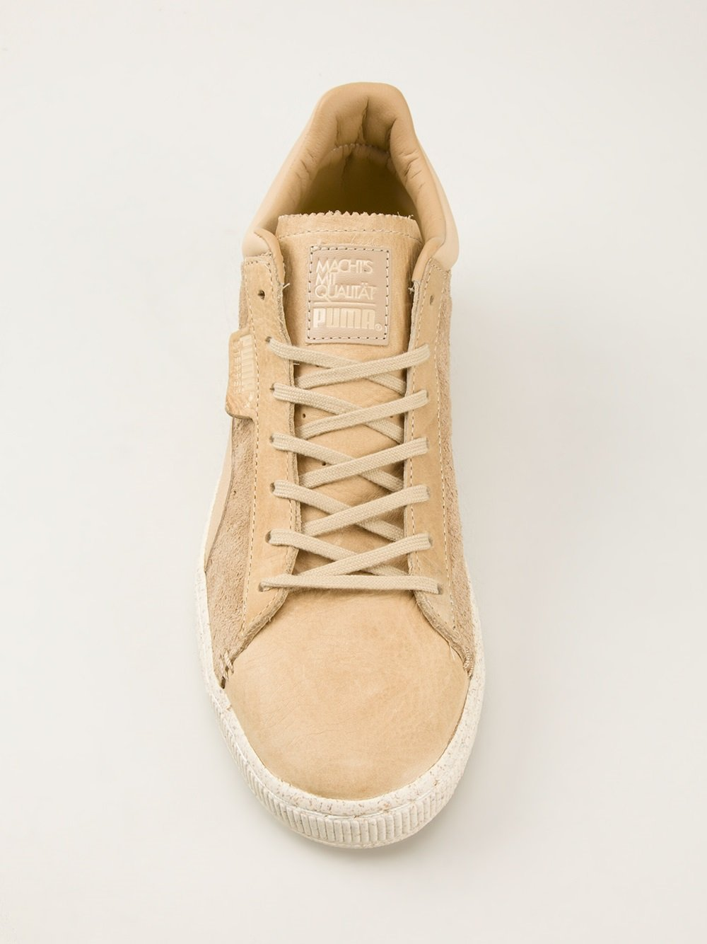 Lyst Puma Classic Crafted Sneakers In Natural For Men