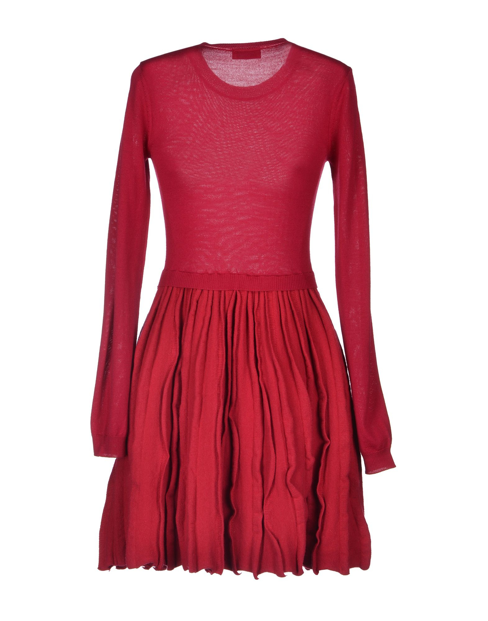 lyst red valentino short dress in red