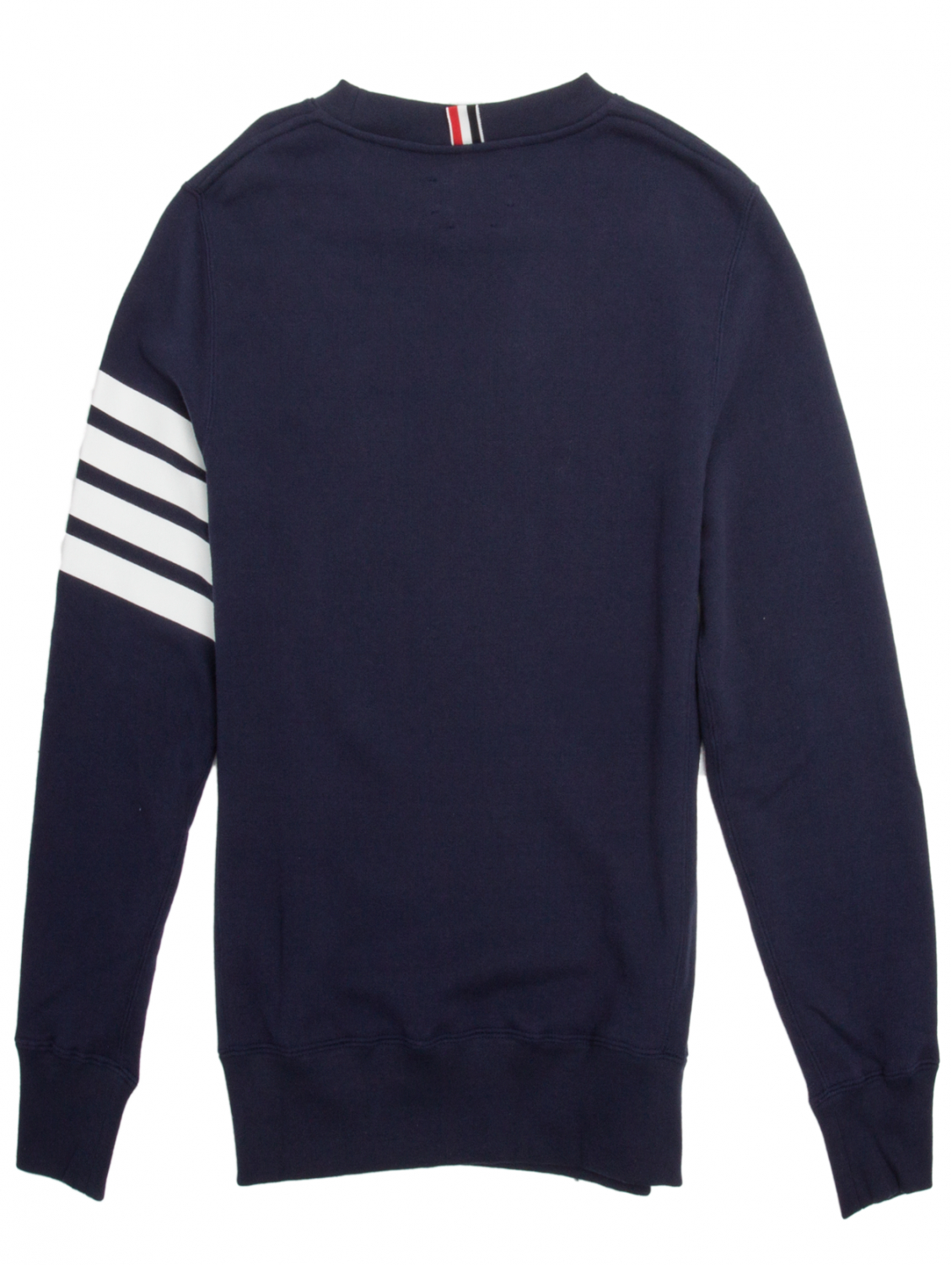 Thom browne Classic Crew Neck Sweatshirt Navy in Blue for Men | Lyst