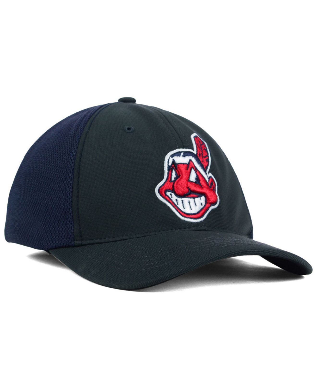 ... closeout lyst 47 brand cleveland indians stretch fit cap in gray for  men 14c81 6c2aa 0f641991c485