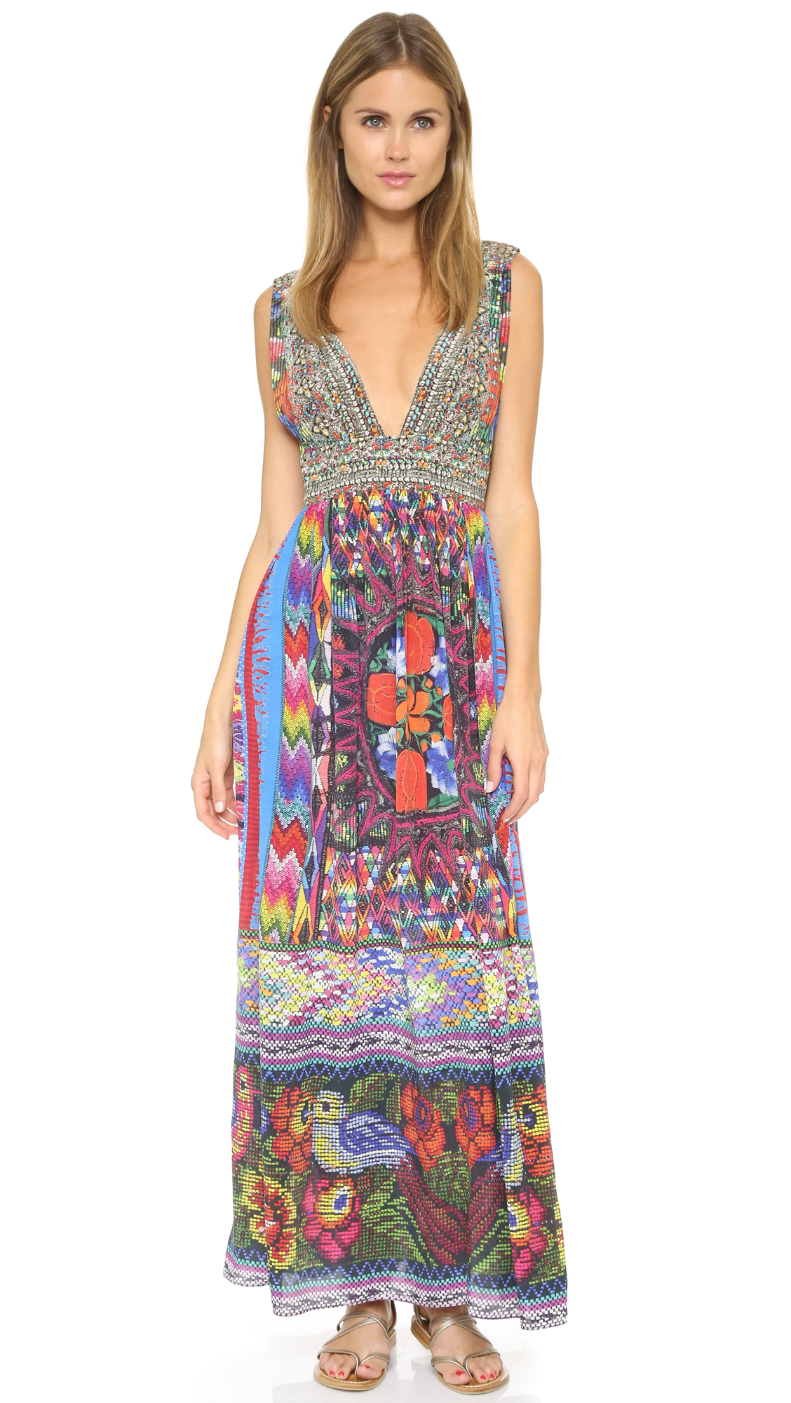 camilla tapestry of time dress tapestry of time in