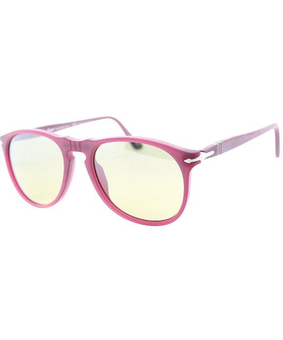 3544ab0d47 POLARIZED PERSOL Photochromic Granato Aviator Sunglasses PO 9649S 9021  83  55mm