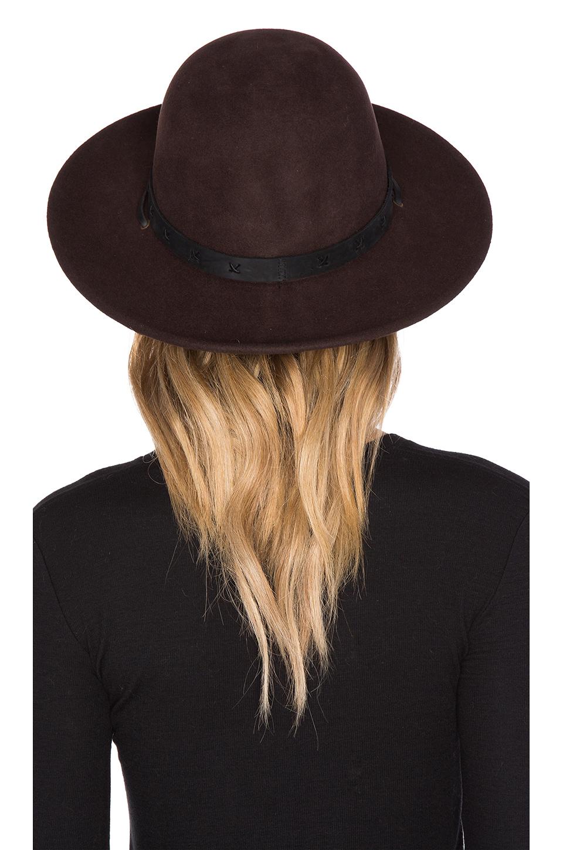 c15d7a74b8c7f0 Brixton Clay Hat in Brown - Lyst
