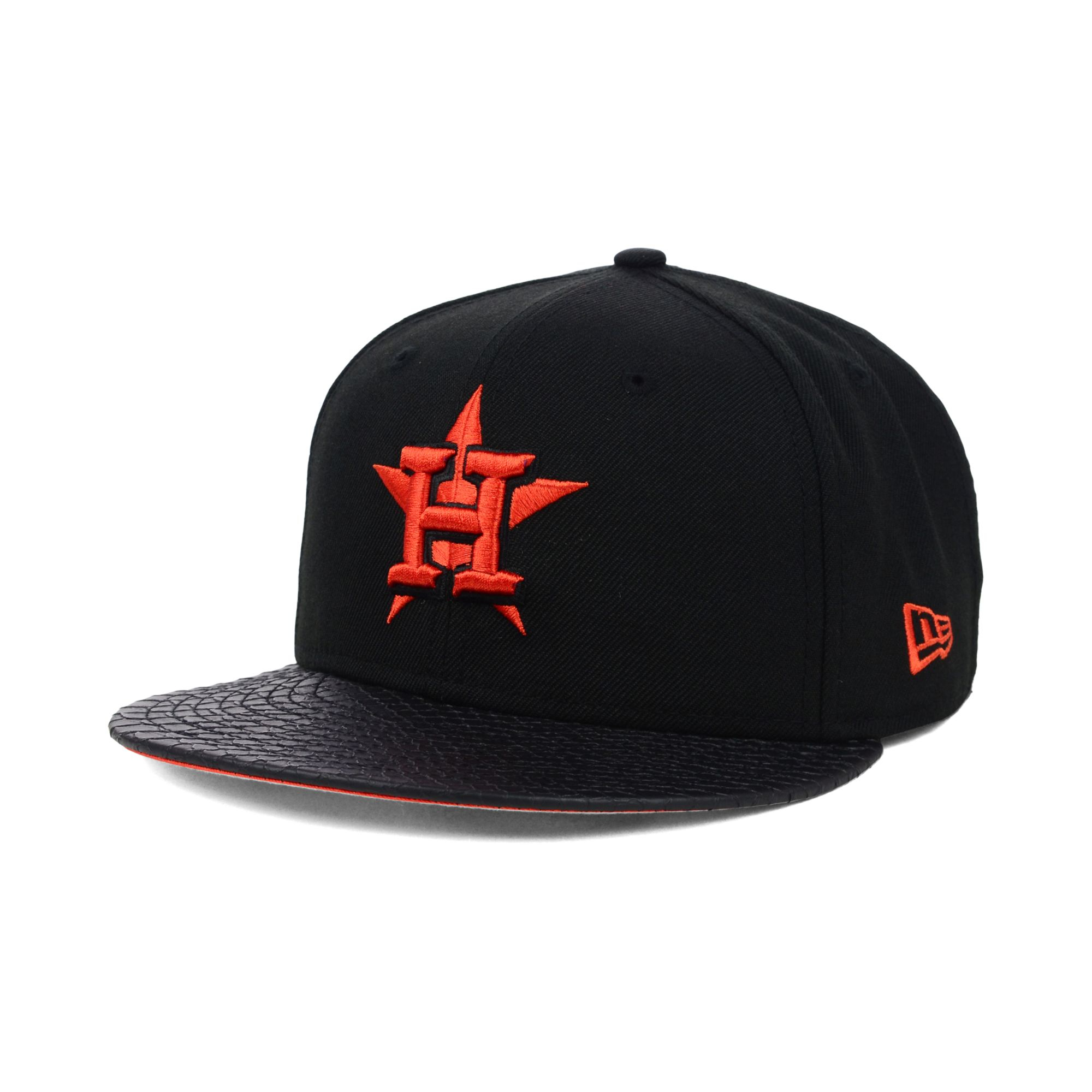 Ktz Houston Astros Mlb Team Python 59fifty Cap in Black ...