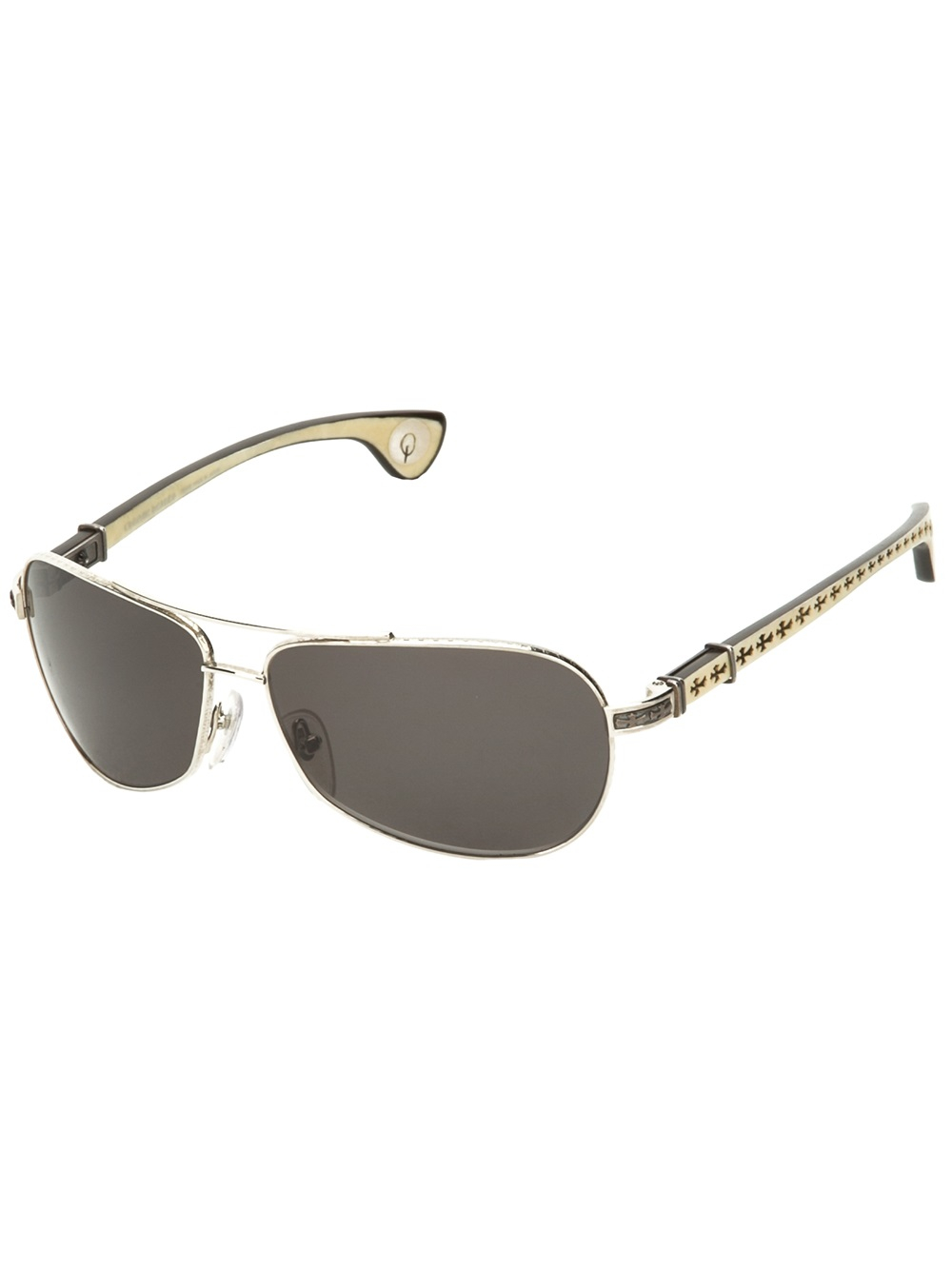 4e943cc0866c Lyst - Chrome Hearts The Best Sunglasses in Natural for Men