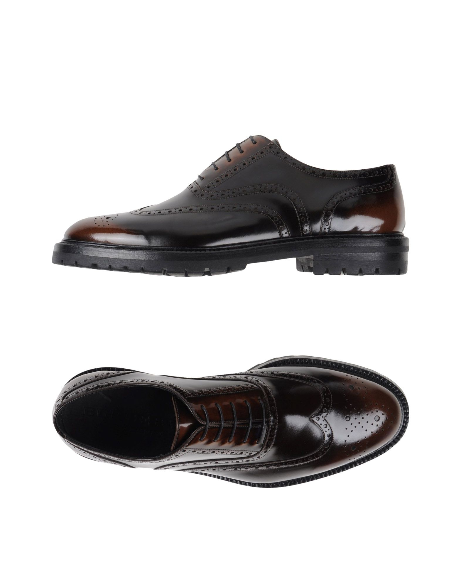 burberry prorsum lace up shoes in brown for lyst