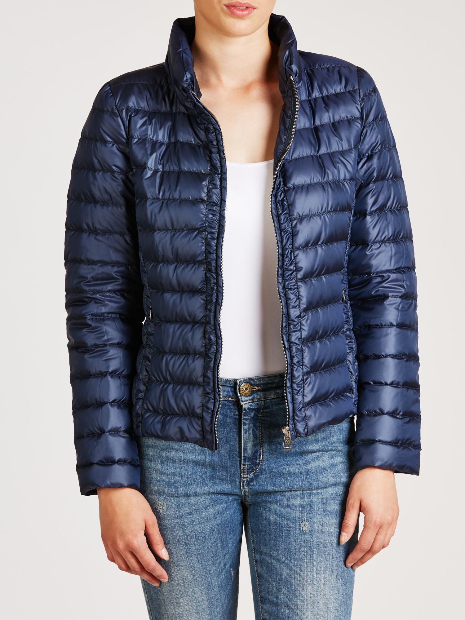Lyst - Weekend by maxmara Perim Quilted Jacket in Blue : max mara quilted jacket - Adamdwight.com