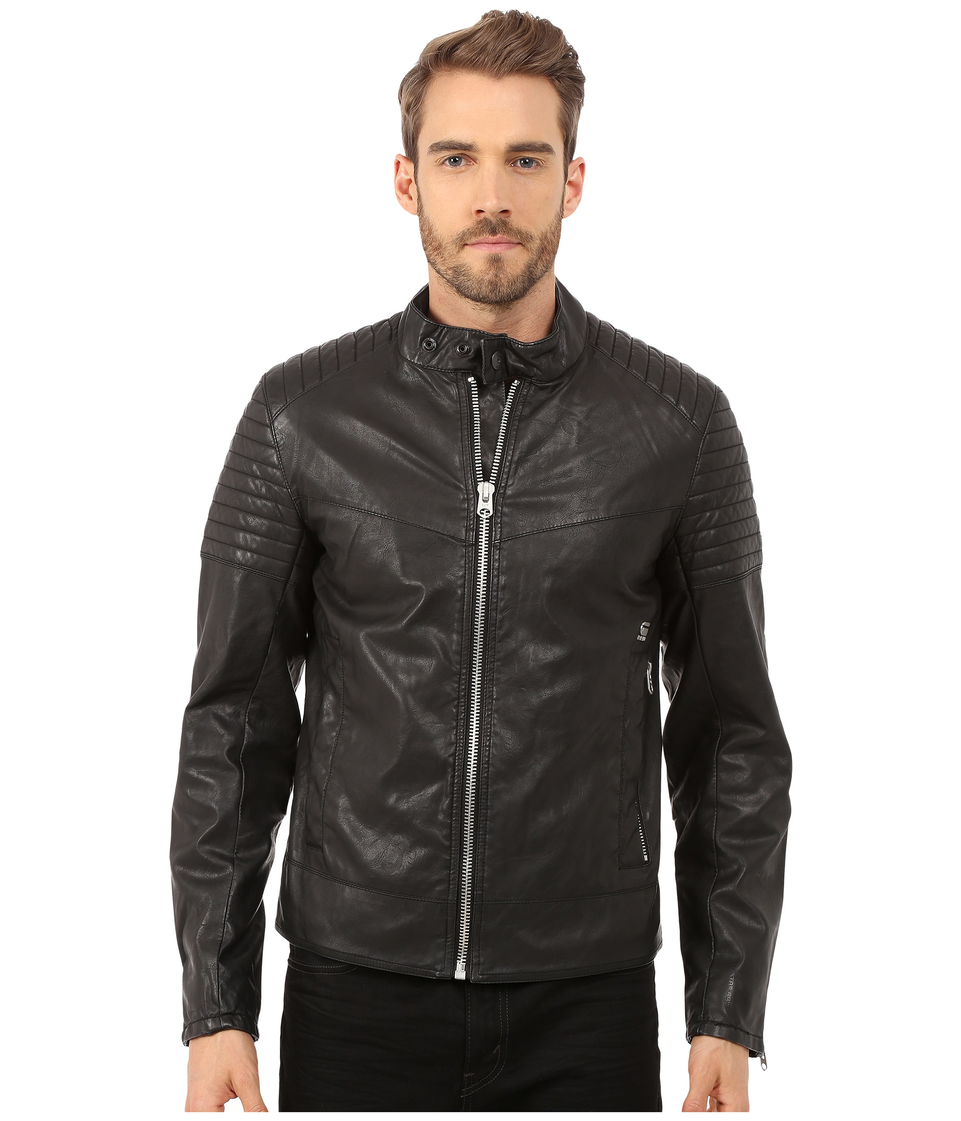 fcd572fde1c5e G-star Raw Attacc Jacket In Black For Men