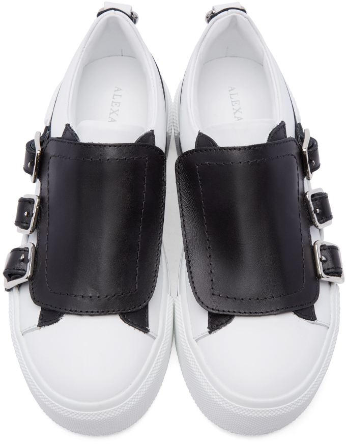 Clearance Sale Alexander McQueen Buckled sneakers Purchase Cheap Clearance Outlet Locations 0emCElInE