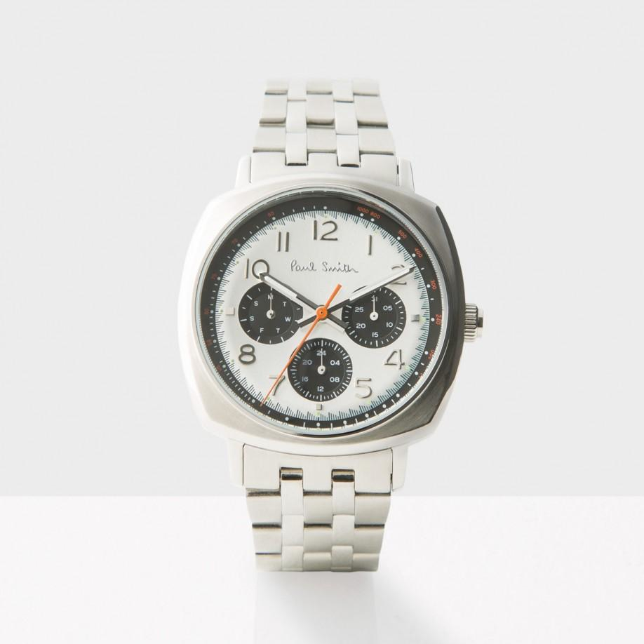 paul smith s white and silver atomic in silver