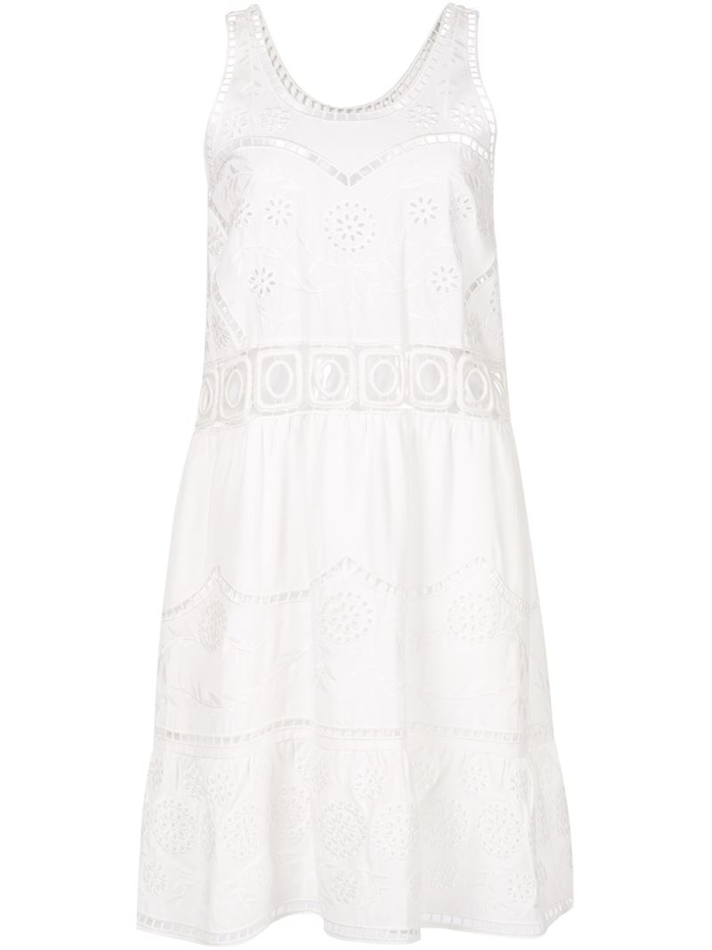 Broderie Anglaise Dress River Island
