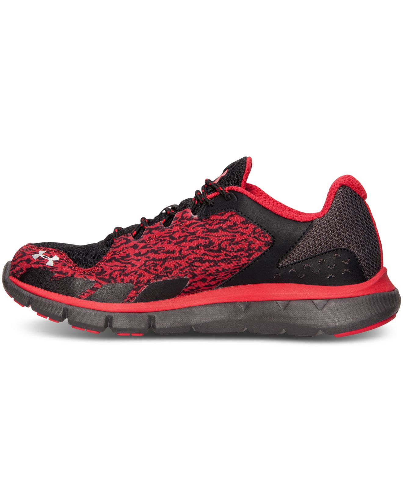 Lyst - Under Armour Men s Micro G Velocity Storm Running Sneakers ... fcf28ec0da3d
