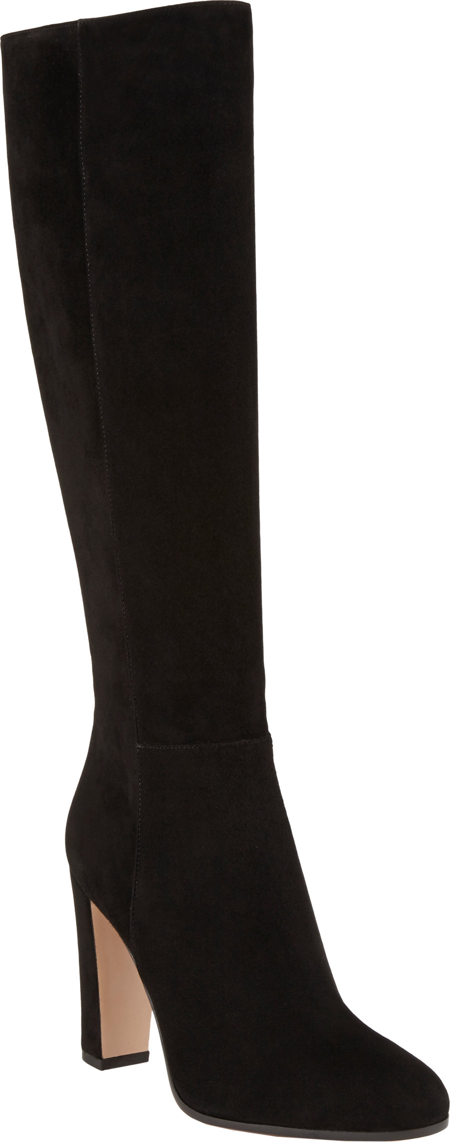 Gianvito Rossi Suede knee-high boots 4iPsE7ThK