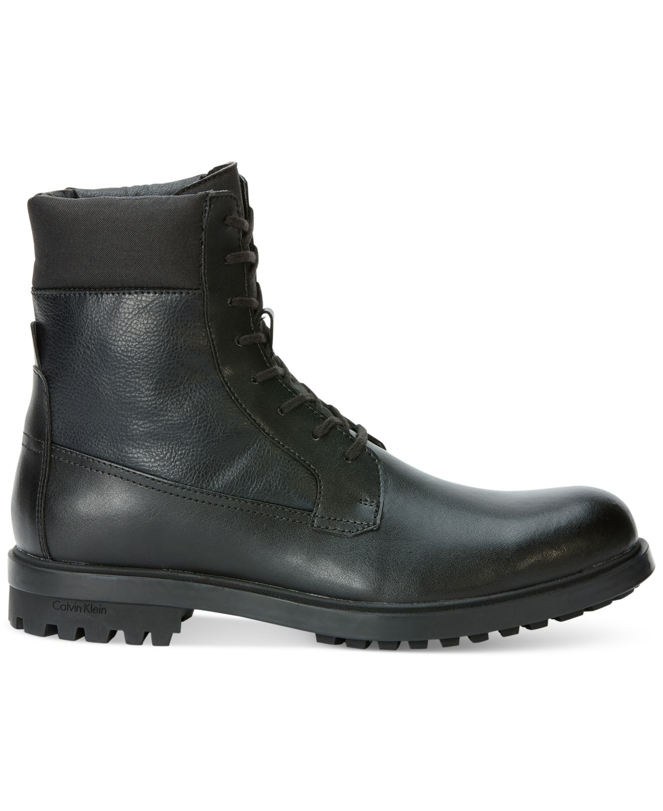 bba366c9c42 Lyst - Calvin Klein Gable Boots in Black for Men