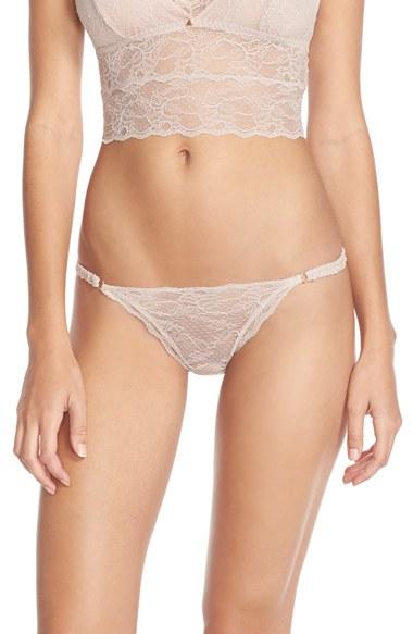 Eberjey 'georgette' Low Rise Bikini in Natural