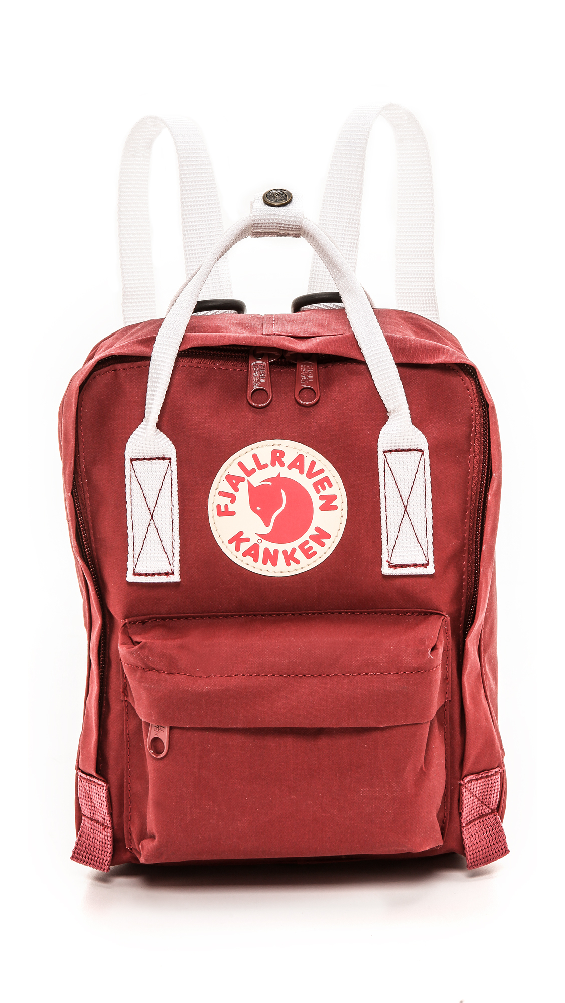 kanken ox red white