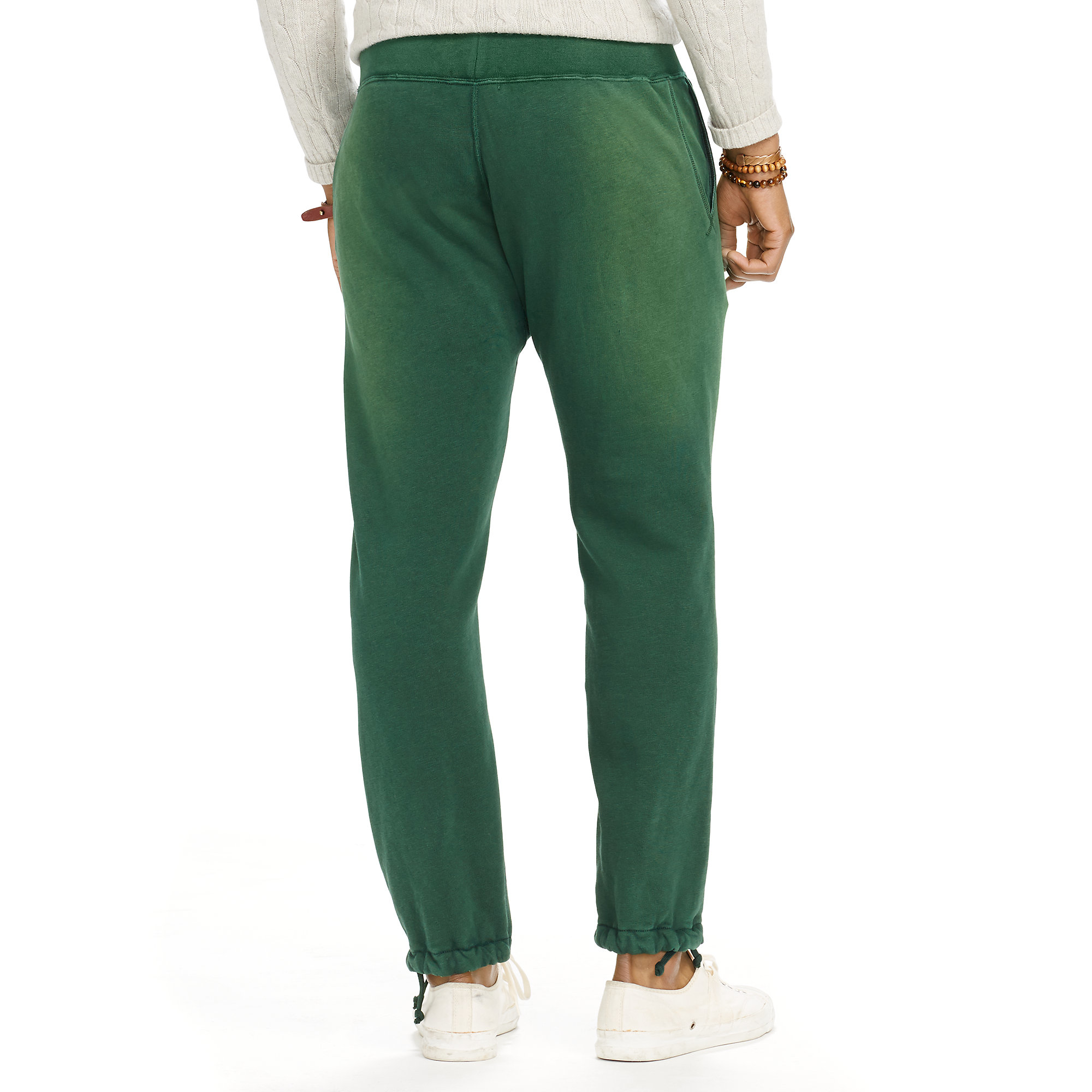 781ce5b2b29 Lyst - Polo Ralph Lauren Fleece Athletic Pant in Green for Men