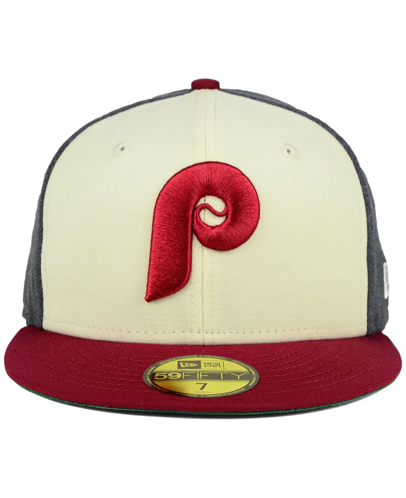 best service 8bf16 f1a22 ... greece lyst ktz philadelphia phillies classic coop 59fifty cap in red  for men b7578 31709