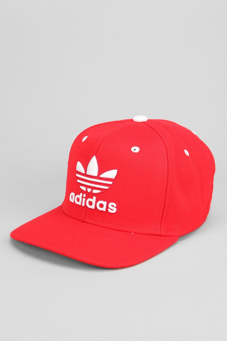 a02127facca ... italy lyst adidas originals thrasher classic snapback hat in red for  men f68e2 4def6