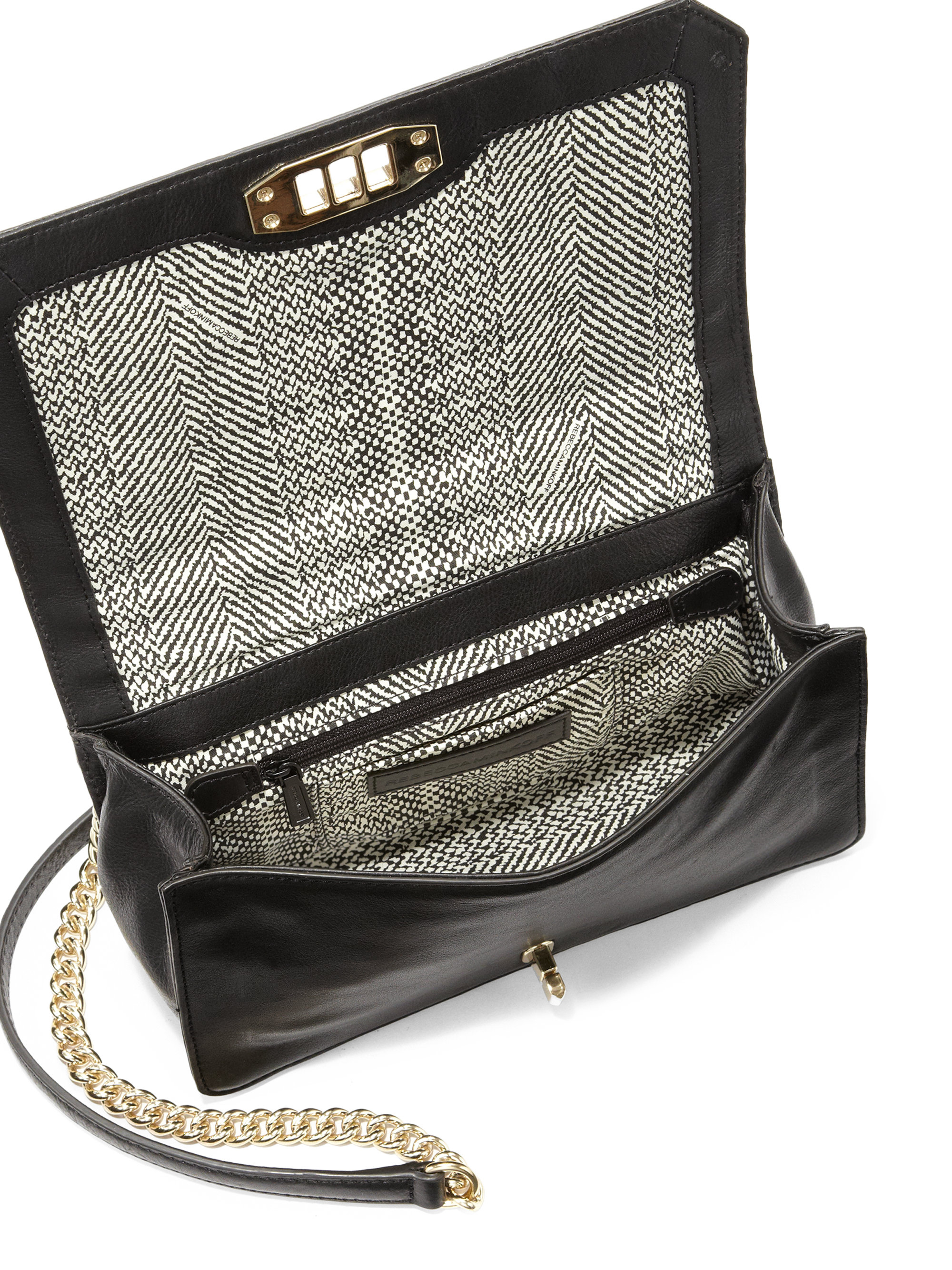 Rebecca Minkoff Love Crossbody Bag With Pearlescent Studs