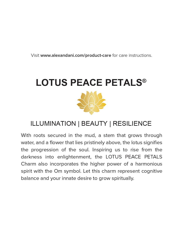 Lyst alex and ani precious metals symbolic lotus peace petals gallery izmirmasajfo