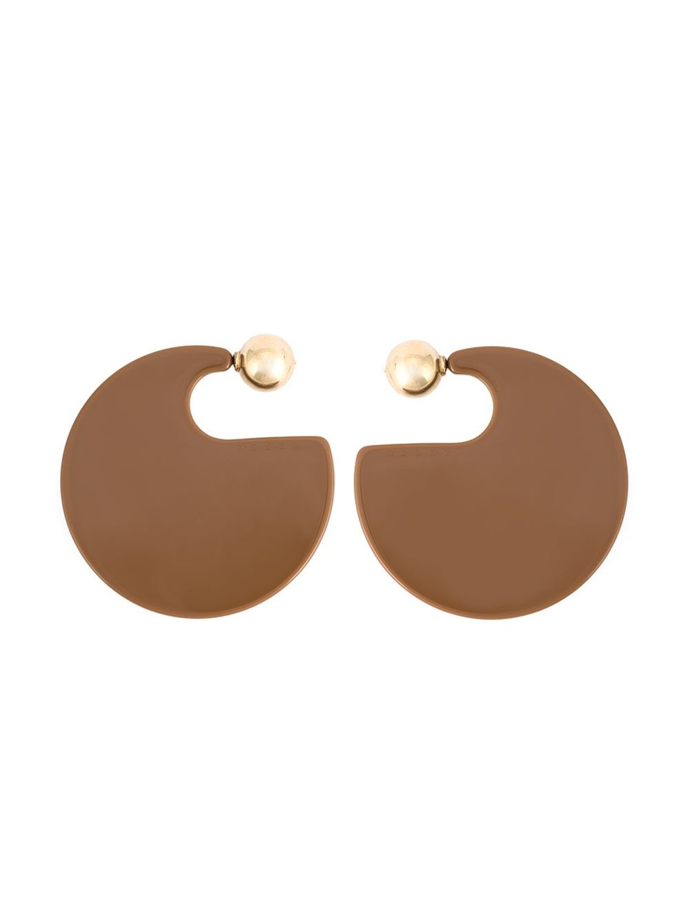 Marni Resin hoop earrings cJ2bMBwGlz