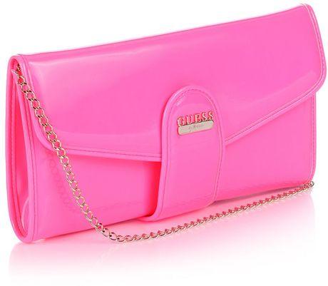 Guess Sapphire Mini Clutch Bag