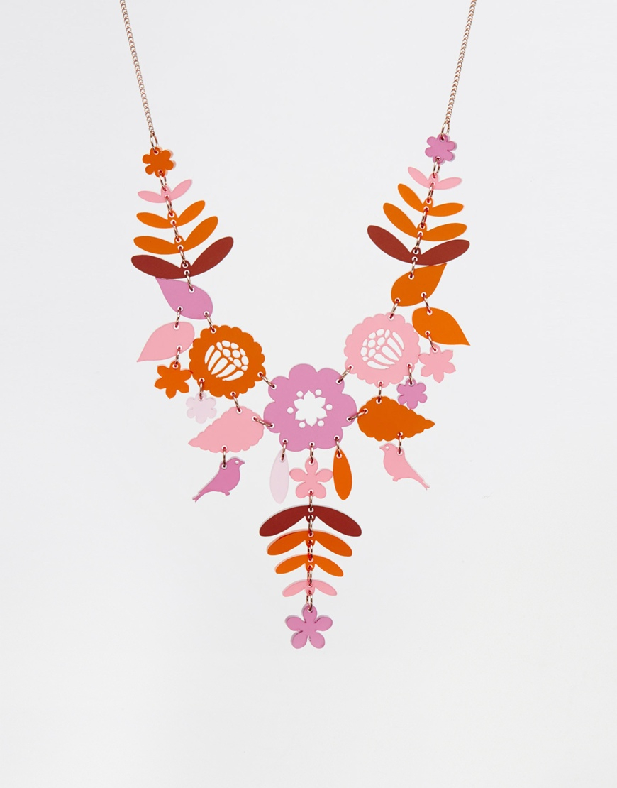 Lyst tatty devine mexican embroidery necklace
