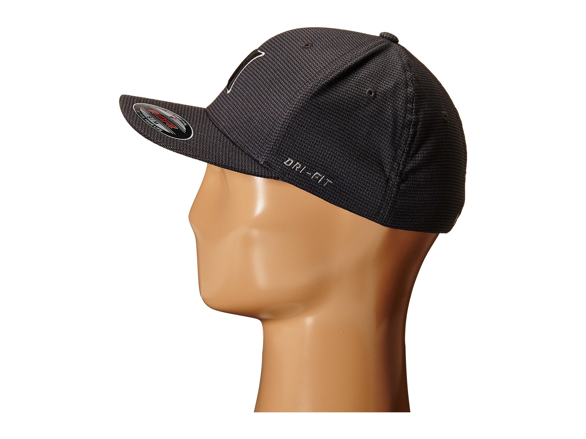 9bb87cbc255c4 Hurley Dri-fit Halyard Fitted Hat in Black for Men - Lyst
