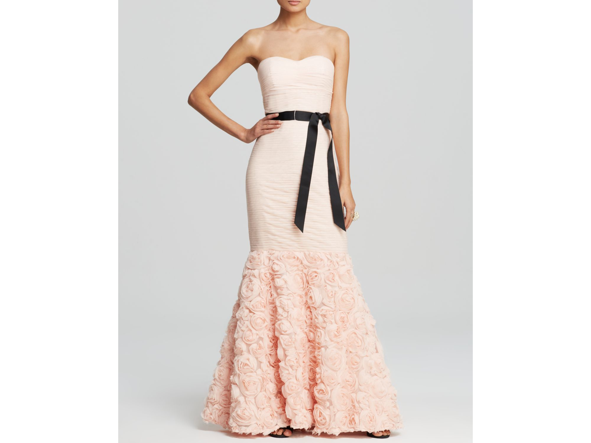 Lyst - Js Collections Gown - Strapless Mermaid in Pink