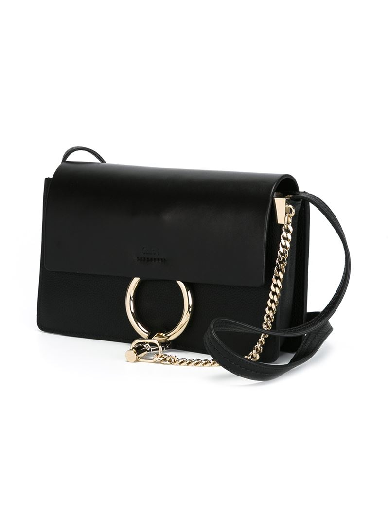 Chloe Bags Replica Black Medium New Faye Bag
