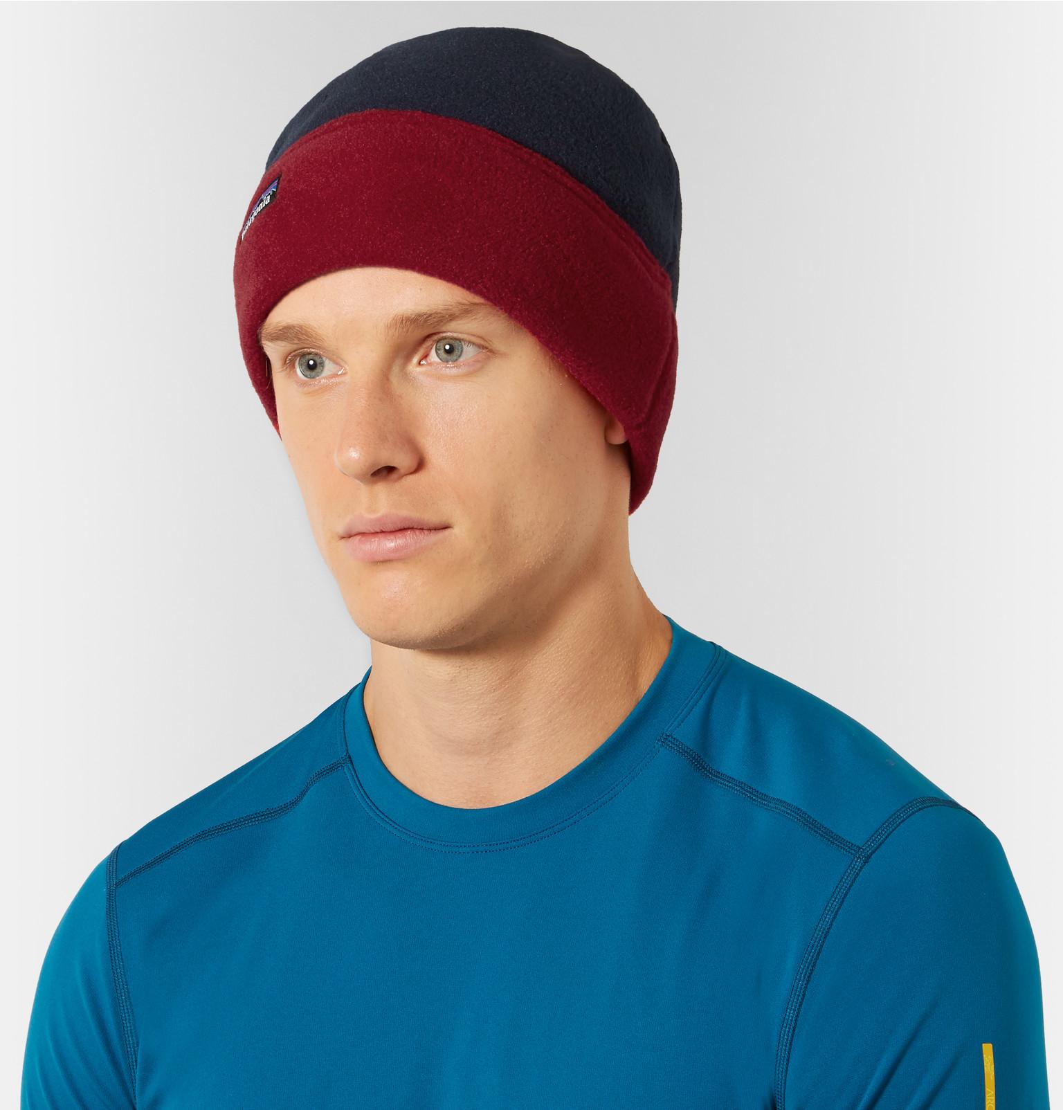 Patagonia Alpine Synchilla reg  Fleece Hat in Blue for Men - Lyst 5cfd7200fe9
