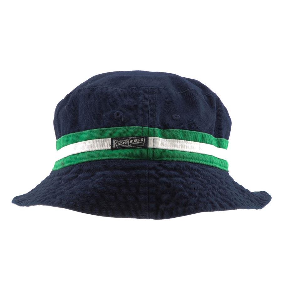 06aa257820d Ralph Lauren Reversible Beachside Bucket Hat in Blue for Men - Lyst