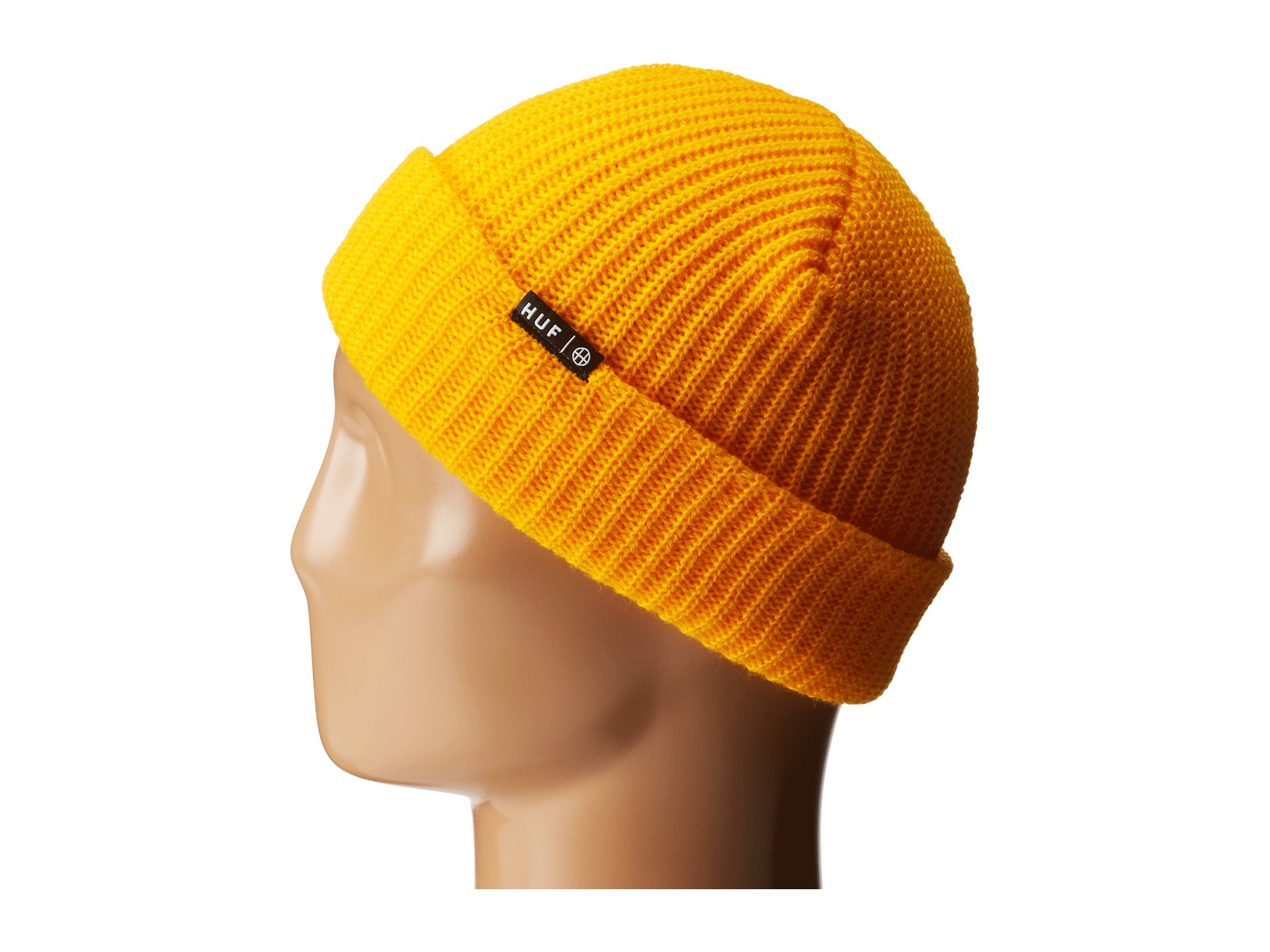 6c217cd89ec Lyst - Huf Usual Beanie in Yellow