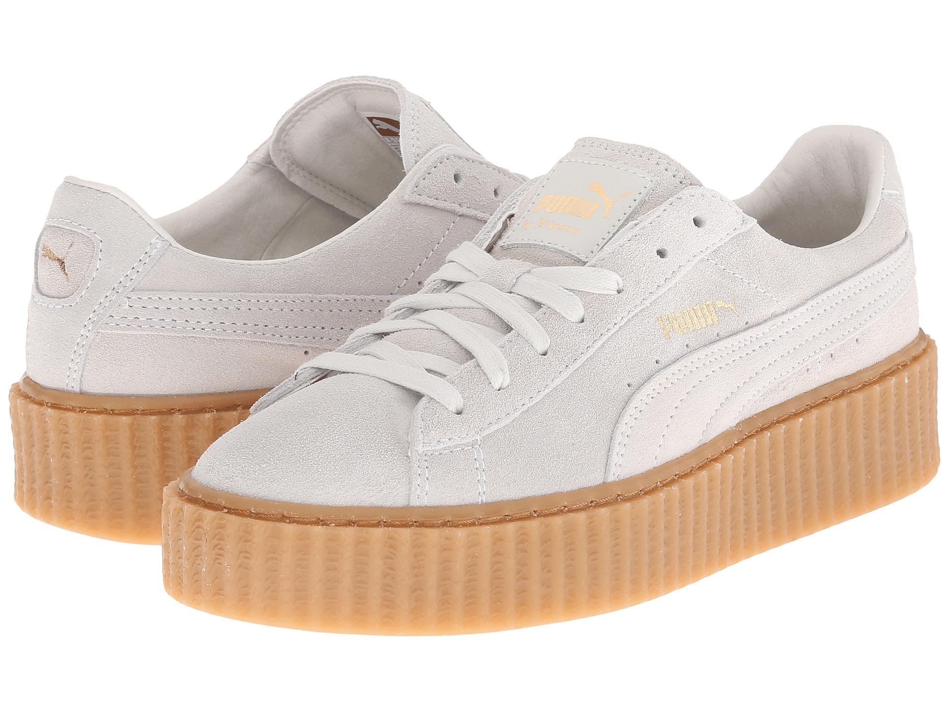 hot sale online e639e 24b6f cheap puma x rihanna fenty creeper sneakers 1603b 5c625