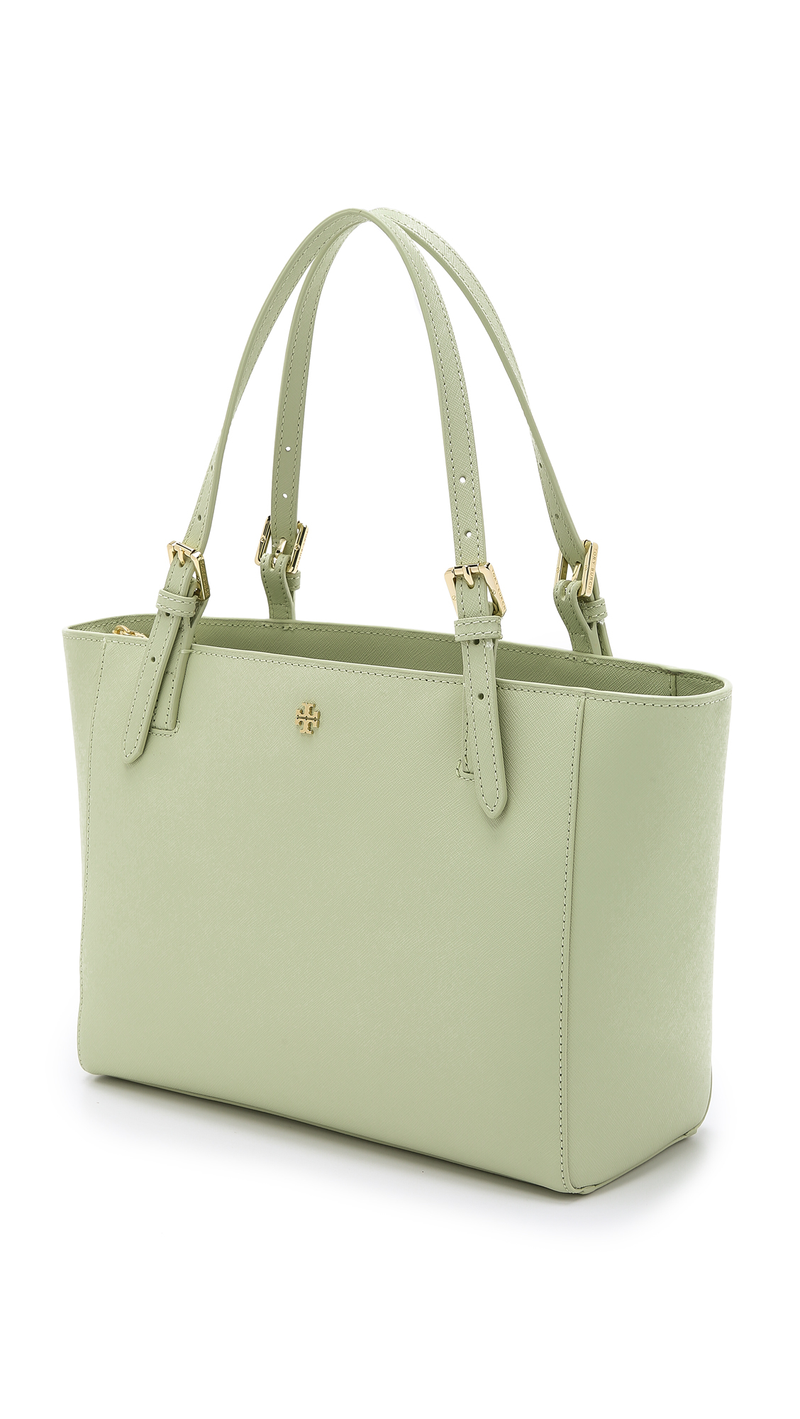 4ed3f13a356 Lyst - Tory Burch York Small Buckle Tote