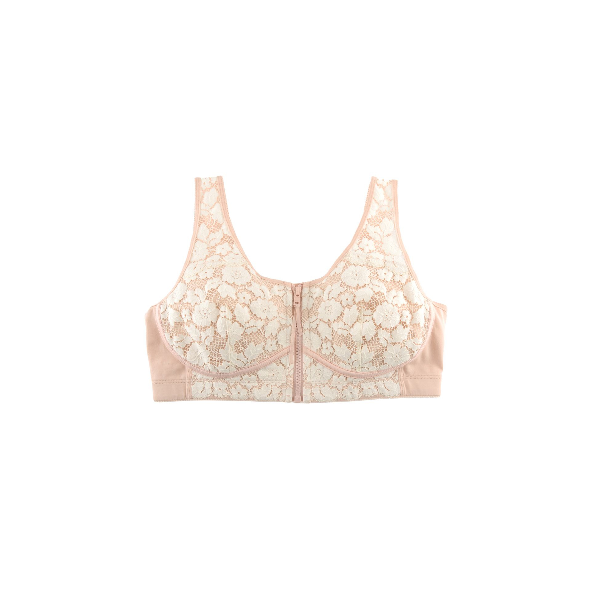 02ba160b9b Lyst - Stella McCartney Louise Listening Bra in Natural