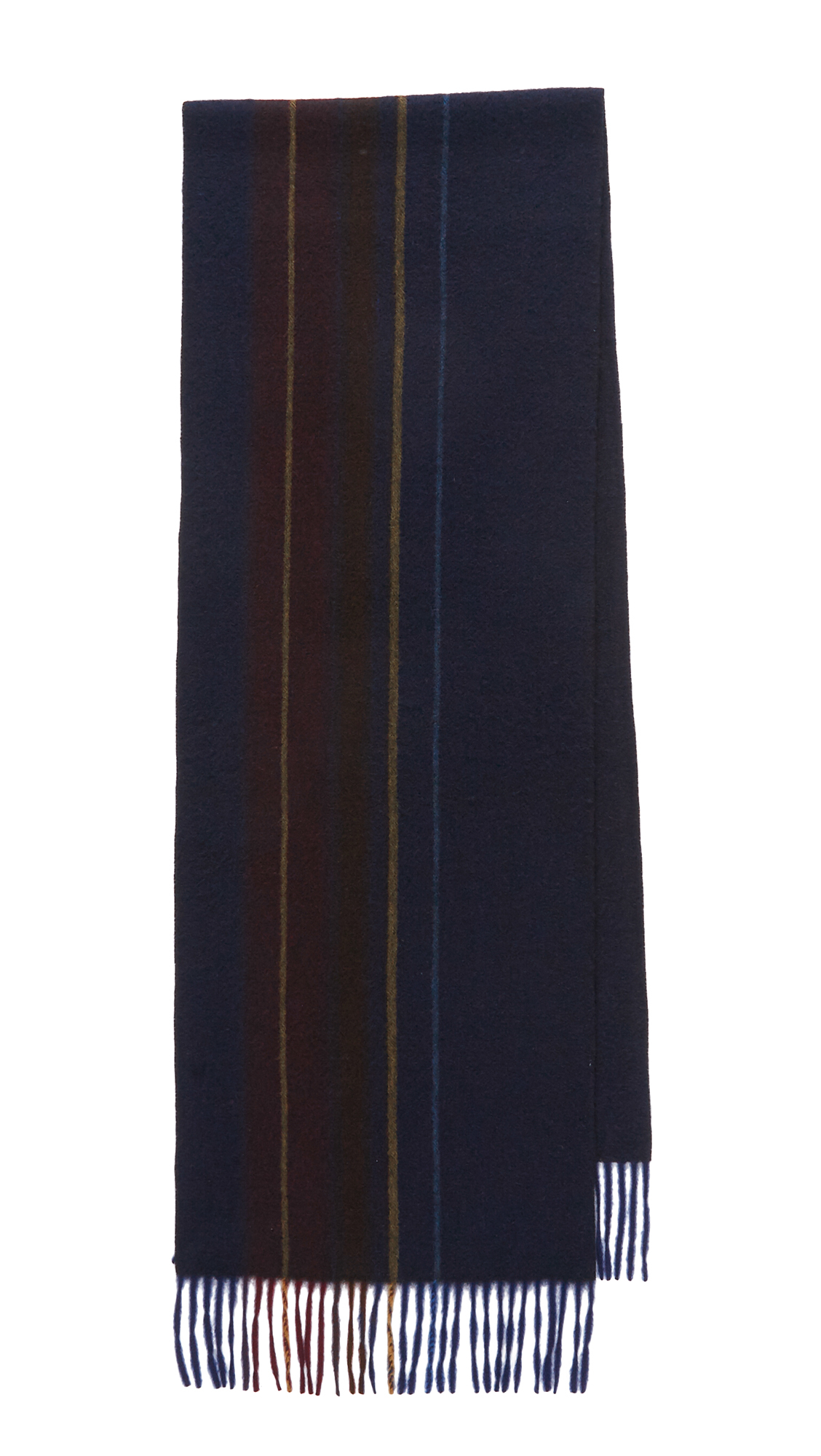 Maiyet Cashmere Heavy College Scarf in Blue