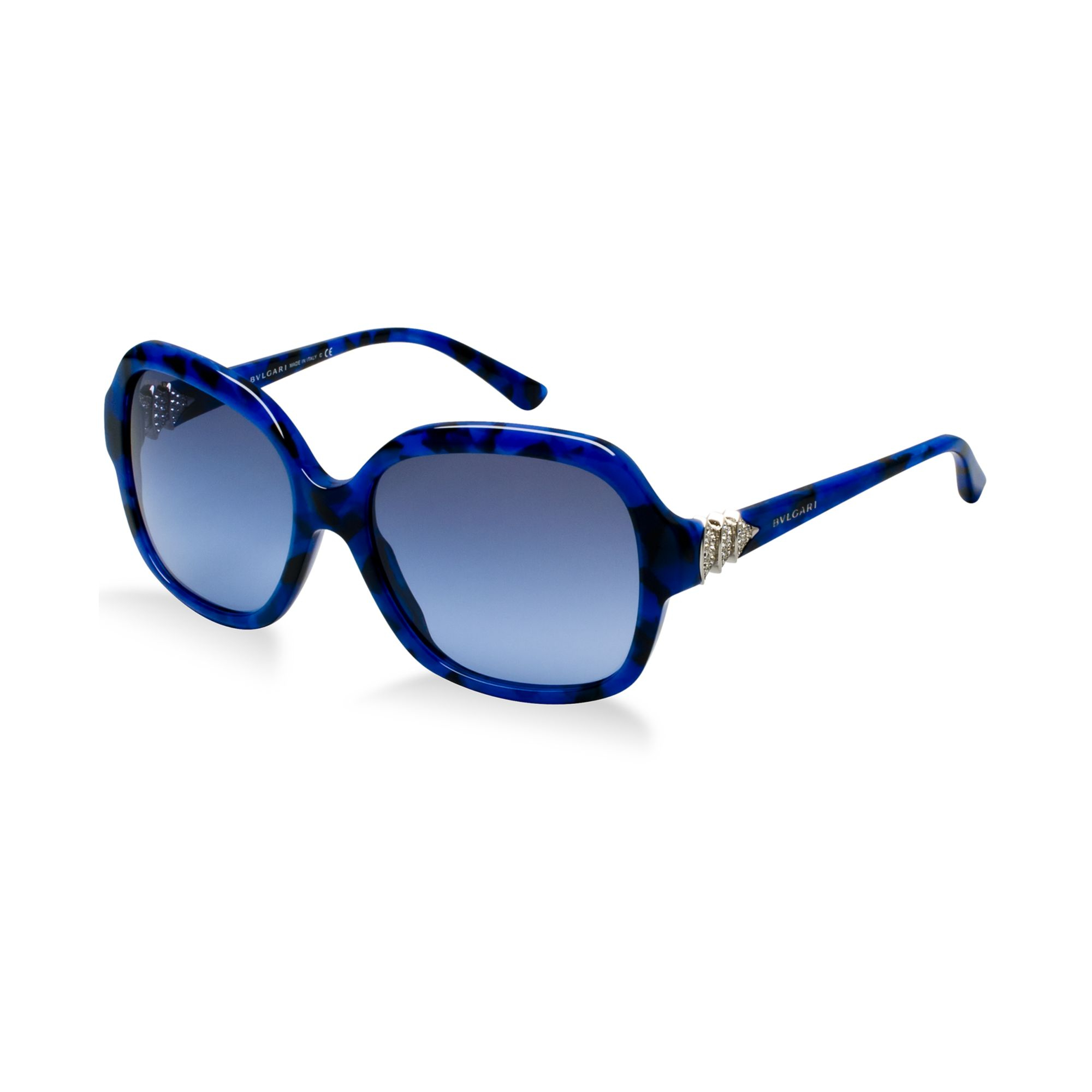 Bvl Sunglasses  bvlgari sunglasses in blue lyst